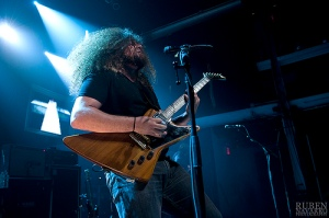 Claudio Sanchez showcasing not only his ability to write fiction, but also his ability to shred.