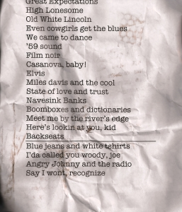The Gaslight Anthem's setlist