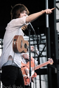 NeverShoutNever! performing one of Christofer Ingle's older songs.