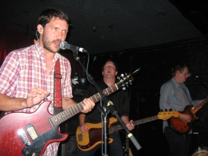 Tim Kasher, Matt Maginn, and Ted Stevens