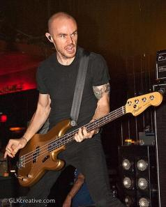 AFI bassist Hunter Burgan