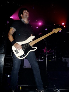 Bayside bassist Nick Ghanbarian