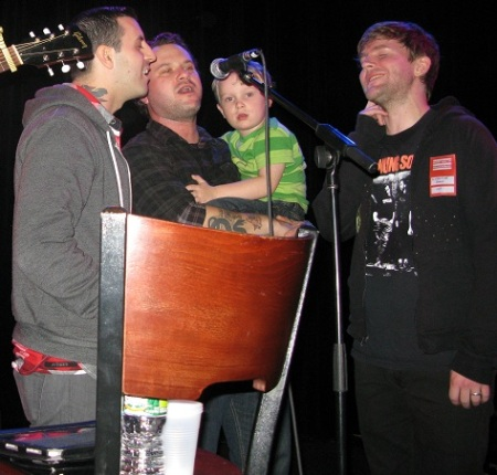 Anthony Raneri, Matt Pryor, and Chris Conley