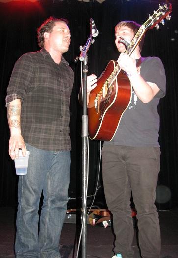 Matt Pryor and Chris Conley